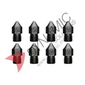 Creality Hardened Steel High-end Nozzles (8 PCS/Set)