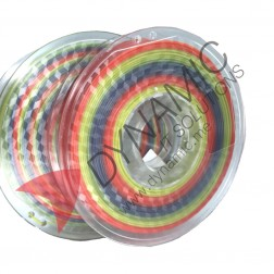 PLA Multicolor Rainbow Color 1.75mm 0.5Kg