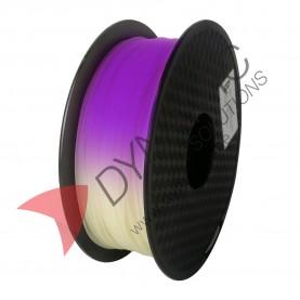 PLA UV Light Change White to Purple 1.75mm 1Kg