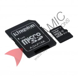 Micro SD Card with Adapter - 16GB (Class 10)
