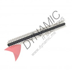 Pin Header Right Angle Single Row Male 40 Pins 2.54 Pitch