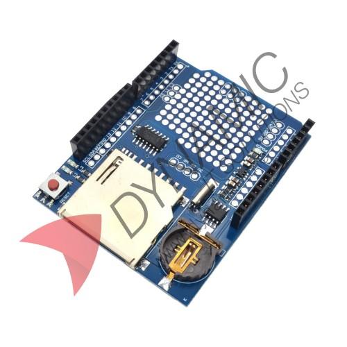 Arduino SD Card Data Logger Shield