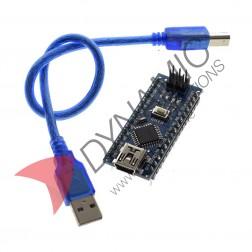 Arduino Nano 3.0 CH340 Chip + USB Cable