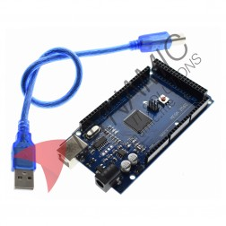 Arduino MEGA 2560 R3 CH340 Chip + USB Cable
