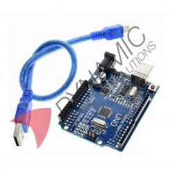 Arduino UNO R3 CH340G Chip + USB Cable