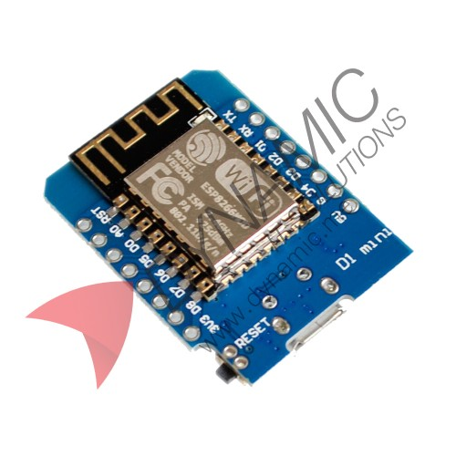 Wemos Mini D1 (ESP8266 and CH340)