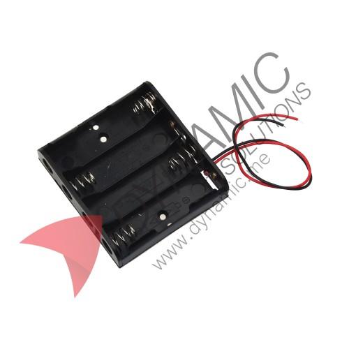 Battery Holder Case 4xAA 6V