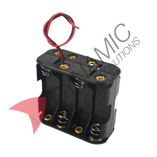 Battery Holder Case 8xAA 12V