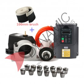 CNC Kit 2.2kw Spindle ER20, VFD, Clamp and Pump