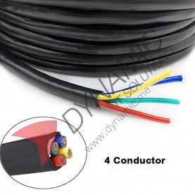 Imported 4 Core 0.33mm2 Shielded Cable (per meter)