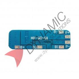 3S 10A Li-ion Lithium Battery BMS
