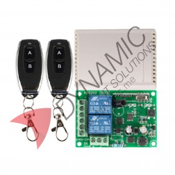 Wireless Control Switch AC 220V 10A With 2 Remote Controls