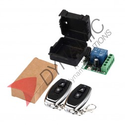 Wireless Control Switch DC 12V 10A With 2 Remote Controls