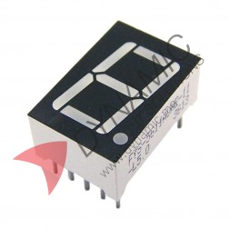 "7 Segment 1 Digit 0.56"" Red LED Common Cathode"