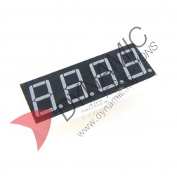 "7 Segment 4 Digits 0.28"" Red LED Common Anode"