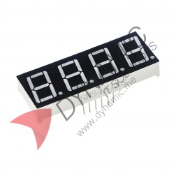 "7 Segment 4 Digits 0.36"" Red LED Common Cathode"