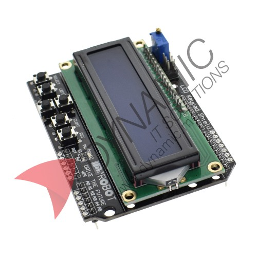 Arduino LCD Keypad Shield 1602