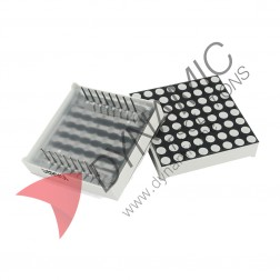 Dot Matrix Display 8x8 3mm Common Anode