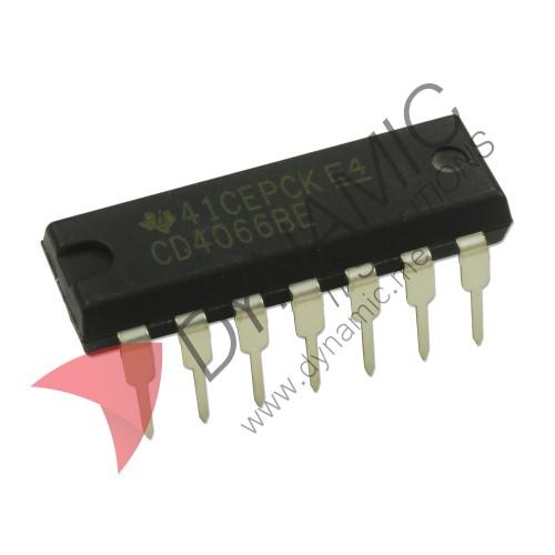 IC 4066 - Quad Bilateral Multiplexer