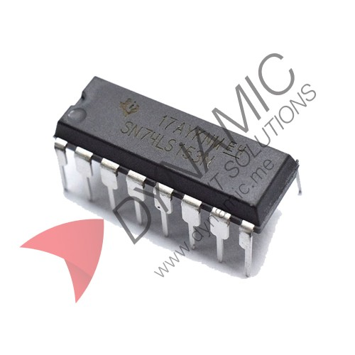 IC 74153 – Dual 4-input multiplexer