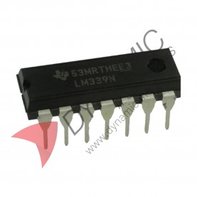 IC LM339 - Voltage Comparator IC