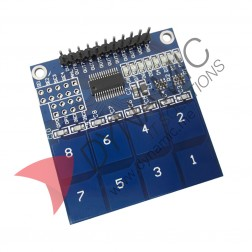 8 Channel Digital Capacitive Touch Sensor TTP226