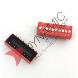 DIP Switch 10 Poles
