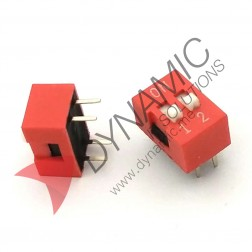 DIP Switch 2 Poles