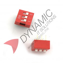 DIP Switch 3 Poles