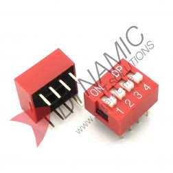 DIP Switch 4 Poles