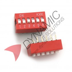 DIP Switch 6 Poles