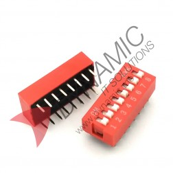 DIP Switch 8 Poles