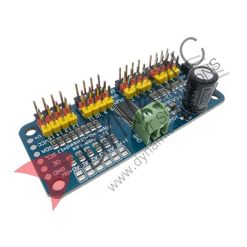 16 Channel 12-bit PWM/Servo Driver - I2C Interface - PCA9685