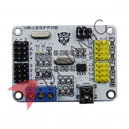 16 channel Servo Motor USB UART Controller Driver