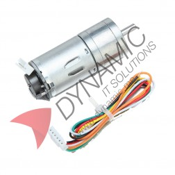 DC Motor with Gearbox and Encoder