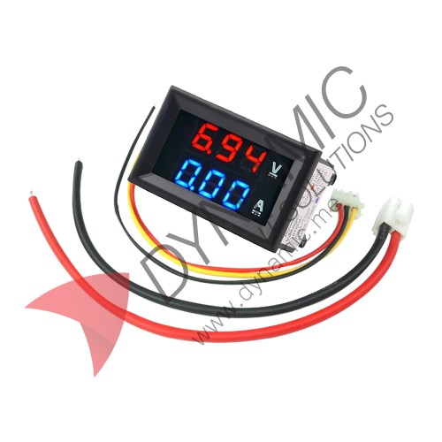 Digital Voltage Current Meter DC 100V 10A