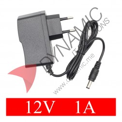 Power Supply Adapter DC Plug - 12V 1A