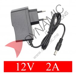 Power Supply Adapter DC Plug - 12V 2A