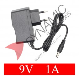 Power Supply Adapter DC Plug - 9V 1A