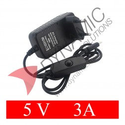 Power Supply Adapter Type C - 5V 3A