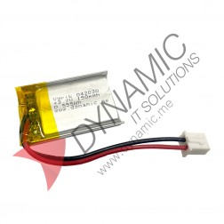 Lithium Polymer Rechargeable Battery 3.7V 042030 150 mAh (with PCM)
