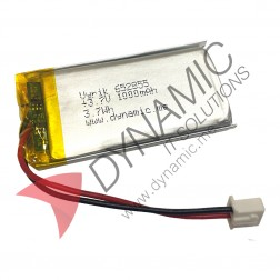 Lithium Polymer Rechargeable Battery 3.7V 652855 1000 mAh (with PCM)