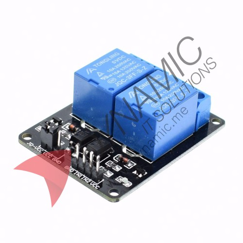 Relay 2 Channels 5V