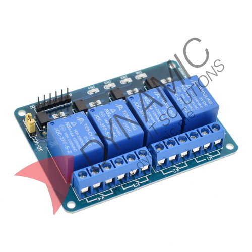 Relay 4 Channels 5V