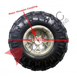 Car Wheel Tyre (130mm)