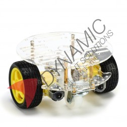 Robot Car 2 Wheel Double Deck (Big Board)