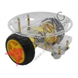 Robot Car 2 Wheel Double Deck (Small Board)