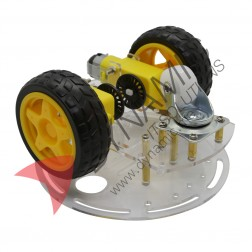 Robot Car 2 Wheel Double Deck (Small Board)