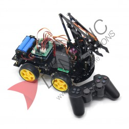 Robot Car With Arm and Wireless Remote