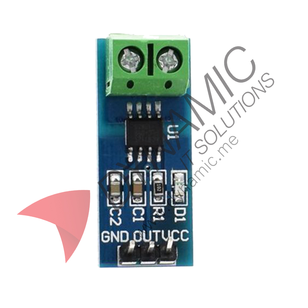 Dynamic Current Sensor Module Acs712 Currentsensorcircuit1jpg
